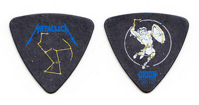 Metallica Robert Trujillo Orion Festival Black Bass Guitar Pick 2012 MISPRINT #2