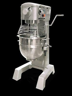Omcan 20442 Commercial 30 QT 2 HP Food Pizza Dough Bakery Mixer MX-CN-0030-G