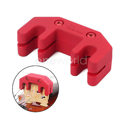 Rubber Coated Metal Practice Mute New Red For Violin/Viola