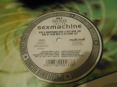 Norman Taylor – Sexmachine (SPACEFLOWER)(HARD TRANCE)(VG+ COND)