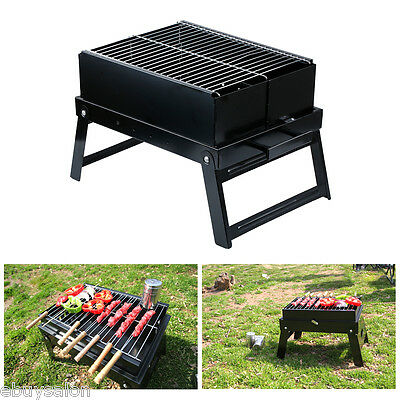 BBQ Barbecue Charcoal Grill Portable Table Cooking Outdoor Party Camping Cooking