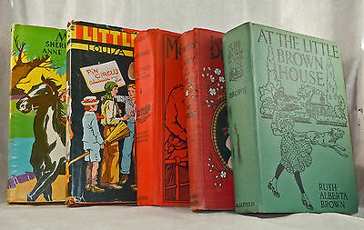 5 Vintage Girls Young Adult Adventure & Mystery Books
