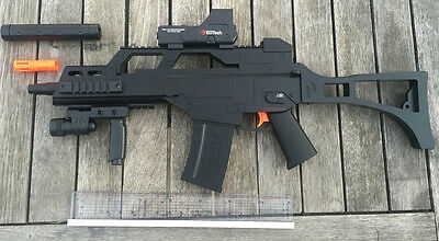 TOY GUN G36 FULL SCALE Nerf cosplay military