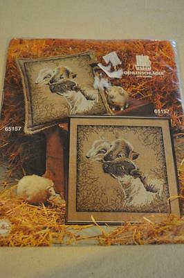 Counted Cross Stitch Embroidery Kit: Oehlenschlager #65157 Lamb FREEPOST IN AUST