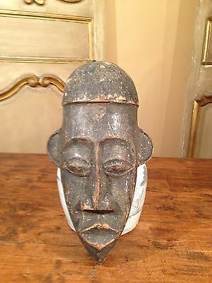 Antique Congo Tribal African mask from the Nkbaka.