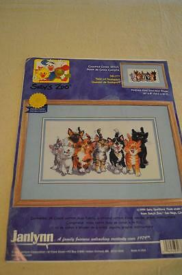 Counted Cross Stitch Embroidery Kit: Janlynn #38-177 Suzy's Zoo FREEPOST IN AUST