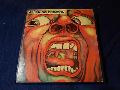 KING CRIMSON - REEL TO REEL - 4T - 3.75 ips - PLAY TESTED