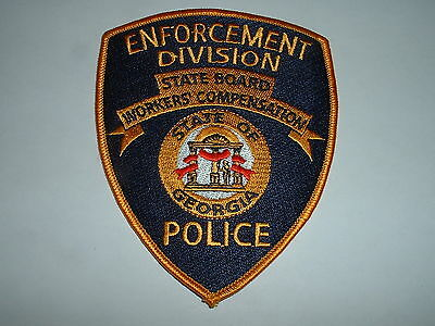 Georgia Workers Compensation Police CLOTH SHOULDER PATCH USA