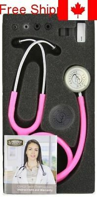 Prestige Medical 121-HPK Clinical Lite Stethoscope, Hot Pink