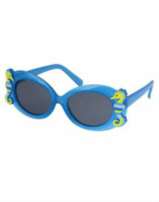NWT Gymboree Girl SWIM LINE Blue Seahorse Sunglasses  Size 0-2 Years