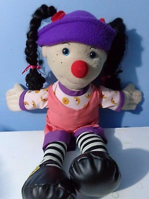 """20"""" Loonette PLUSH Rag DOLL From THE Big COMFY Couch"""