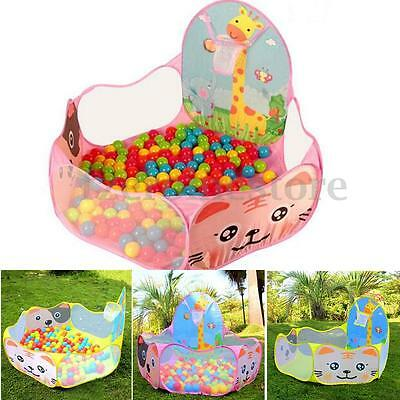 120*120cm Foldable Kid Children Ball Pool Outdoor Indoor Play Toy Tent Playhouse