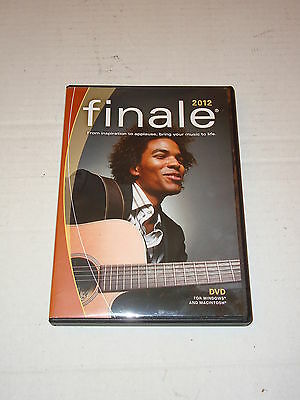 Finale Music Notation Software 2012 For Windows & Mac Dvd