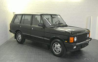 1993 Land Rover Range Rover 4dr Wagon County Lwb Range Rover County LWB 4x4 Sunroof Heated Seats Tow Package New Michelin Tires