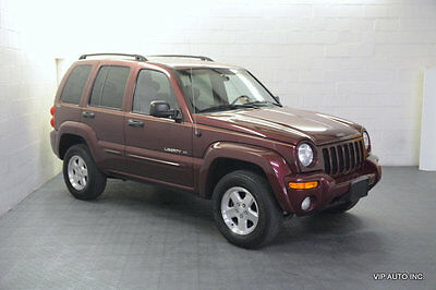 2002 Jeep Liberty 4dr Limited 4WD Liberty Limited 4x4 Heated Seats Infinity Sound Leather Sunroof