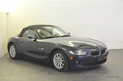 2005 BMW Z4 Roadster 2.5i Z4 Convertible Premium Package Heated Seats Power Top BMW Assist