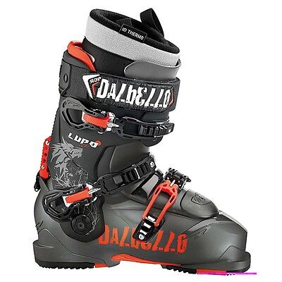 2015 Dalbello Lupo SD I.D Anthracite/Black Size 26.5 Men's Ski Boots