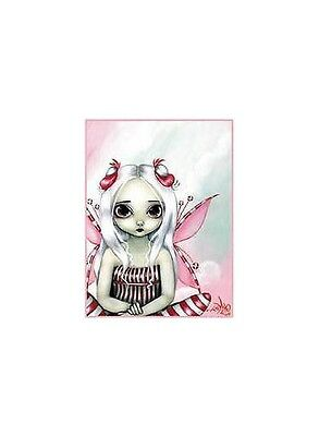 RARE PRETTY PEPPERMINT CANDY FAIRY STICKER/VINYL DECAL Jasmine Becket Griffiths