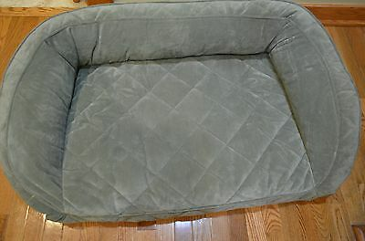 Orvis Deep Dish Memory Foam Dog Bed Size Med 40-60 Lbs. List $259 New