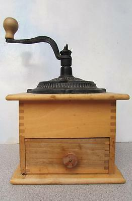 Genuine Woodcroftery Coffee Grinder / Mill - Made In U.s.a.