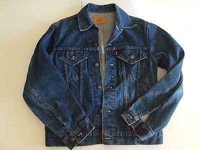 Vintage LEVIS Trucker 70505 0217 Size 38 Denim Jacket