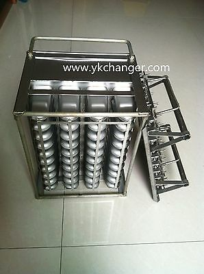 Ice cream mould stainless steel ice lolly moulds 4X10 40popsicles 90ml