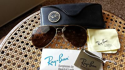 vintage B&L Ray Ban Aviator 62{}14 with CHANGEABLE PRECIOUS METAL-MASTERPIECE
