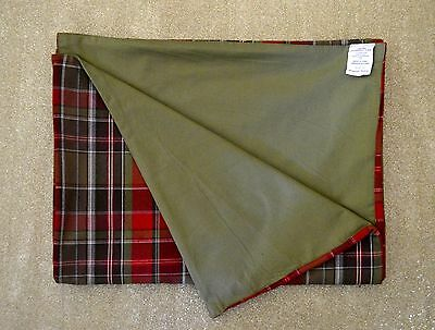 """Pottery Barn Red/green Plaid Table Runner 18""""x 108"""""""