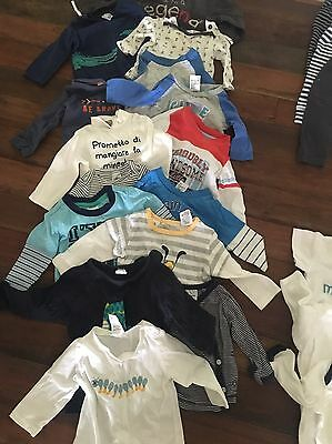baby clothes Boy, Long Sleeve, Size 000, Mixed Brands Cotton On, Bonds