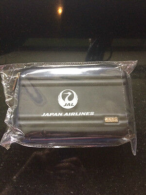 Japan Airlines (JAL) Business Class Hard sided Amenity Bag in Graphite Grey