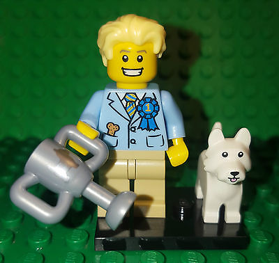 Lego 71013 Series 16 Minifigure DOG SHOW JUDGE AND DOG