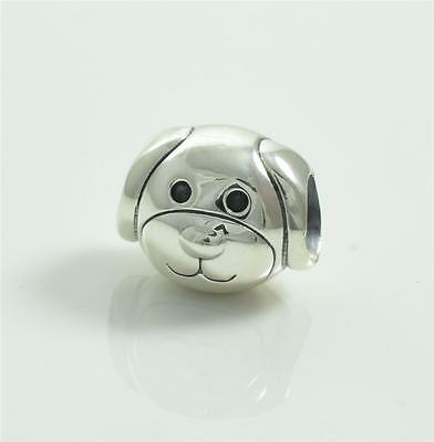 Authentic Genuine Pandora Sterling Silver Devoted Dog Charm Bead 791707