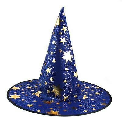 1Pcs Monolayer Adult Womens Witch Hat For Cool Halloween Costume Accessory