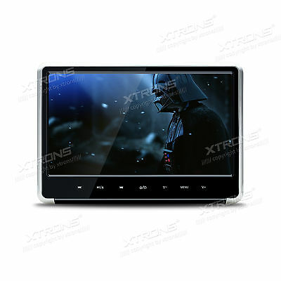 "15.6"" 1080P Video HD Monitor Wide Screen Overhead DVD Player HDMI Games 12V/24V"