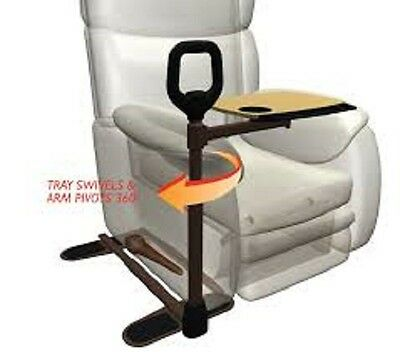 Over chair table - Swivel Tray with Safety Handle