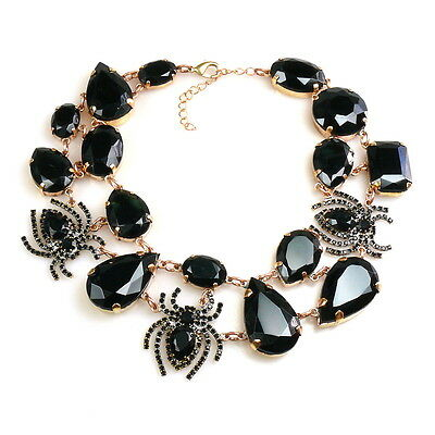 Spider necklace - Gothic style
