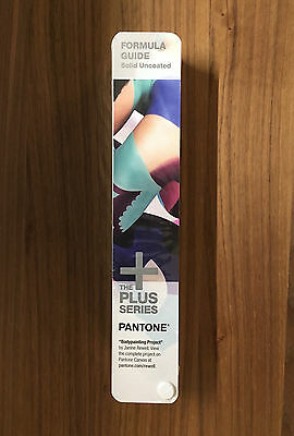 Genuine Pantone Formula Guide SOLID UNCOATED only   THE PLUS SERIES