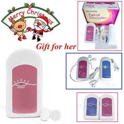 baby heart Baby Sound A Contec Fetal doppler+Gel gift for her