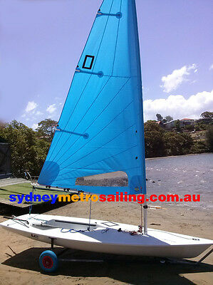 Sail numbers for Laser sailing dinghy sail boat Radial 5.7 training sail