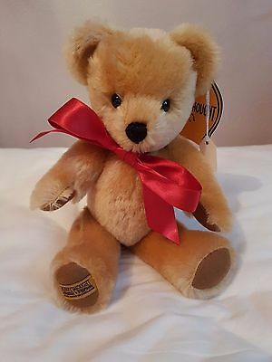 Merrythought London Gold Bear - New - 10 inch