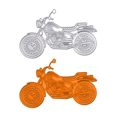 Motorcycle Metal Cutting Dies Stencil Scrapbook DIY Paper Cards Craft Embossing