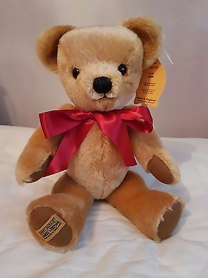 Merrythought London Gold Bear - New - 16 inch