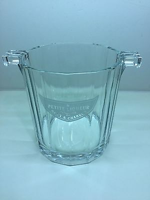 MOËT & CHANDON Ice bucket Clear glass made in Italy