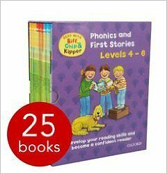 Read with Biff, Chip and Kipper (Levels 4-6) - 25 Books (RRP £120+)