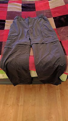 The North Face Men's zip off trousers size M/M BNWOT - never worn