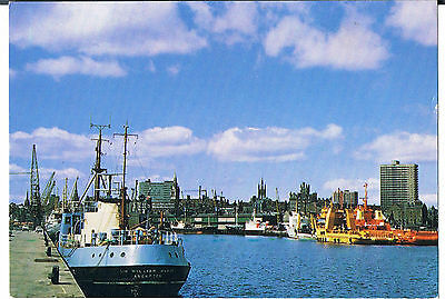 Postcard Aberdeen From The Harbour C1970's