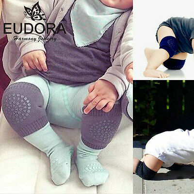2pcs Safety Cotton Baby Knee Pads Crawling Protector Kids Kneecaps Leg Warmers