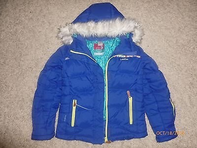 Oxylane  Wed'ze  Girls Winter Jacket Size 9-10 Y Mint Condition