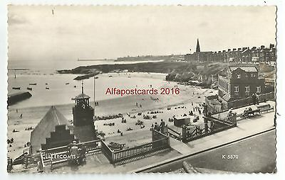 Northumberland Cullercoats Real Photo Vintage Postcard 29.10