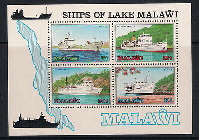 Malawi stamps - 1985 Ships of Lake Malawi (2nd series), MS732, MNH